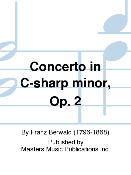 Concerto in C-sharp minor, Op. 2