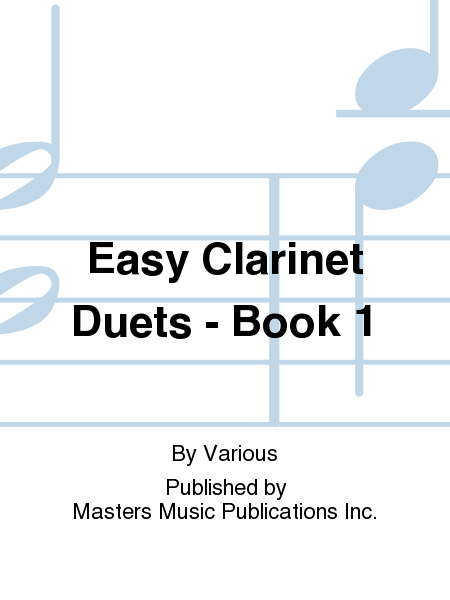 Easy Clarinet Duets - Book 1