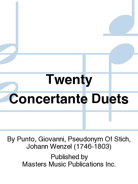 Twenty Concertante Duets
