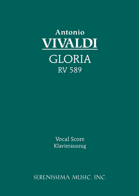 Gloria in D (Op. 103/3), RV 589
