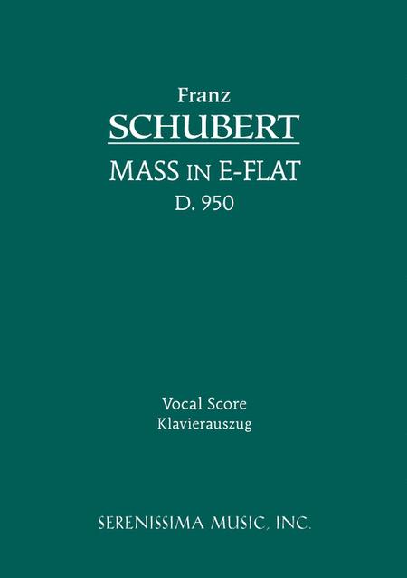 Mass in E-flat, D. 950