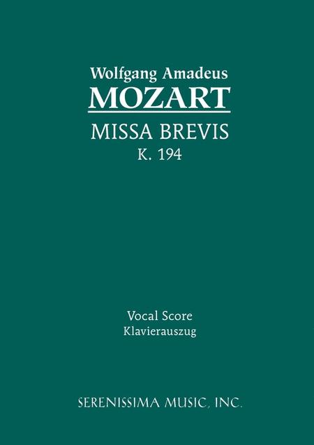 Missa Brevis in D, K. 194 (186h)