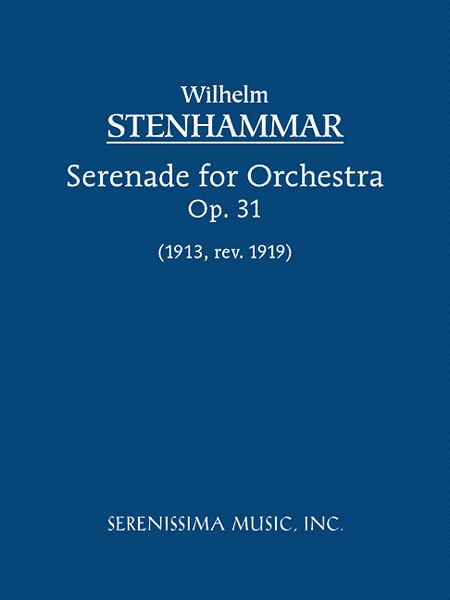 Serenade in F, Op. 31 (1919 revision)
