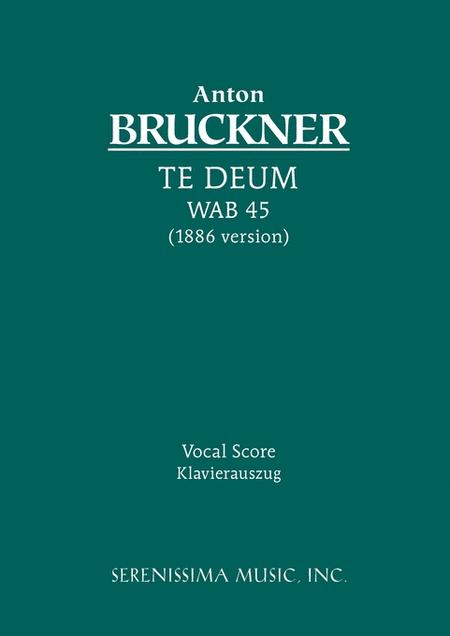 Te Deum (1886 revision)