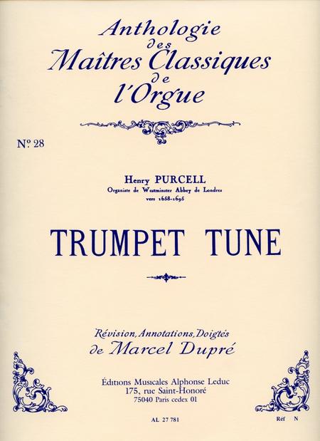 Trumpet Tune - Clas No.28/Orgue