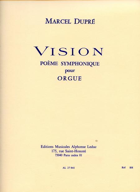 Vision Op44 - Orgue