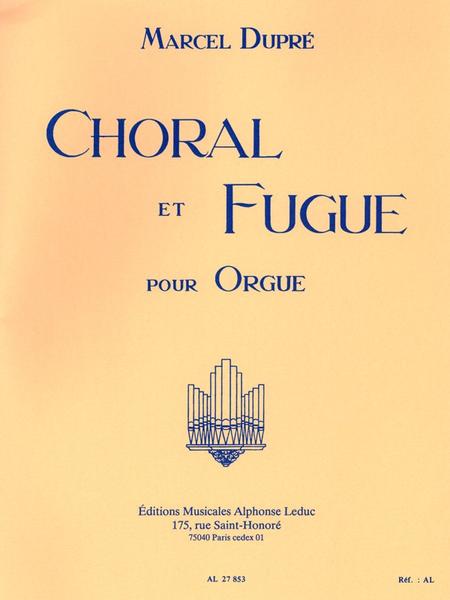 Choral Et Fugue Op57 - Orgue