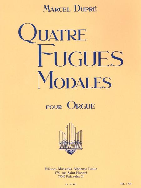 4 Fugues Modales/Op63 - Orgue