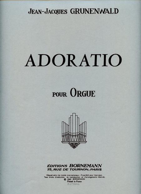 Adoratio - Orgue