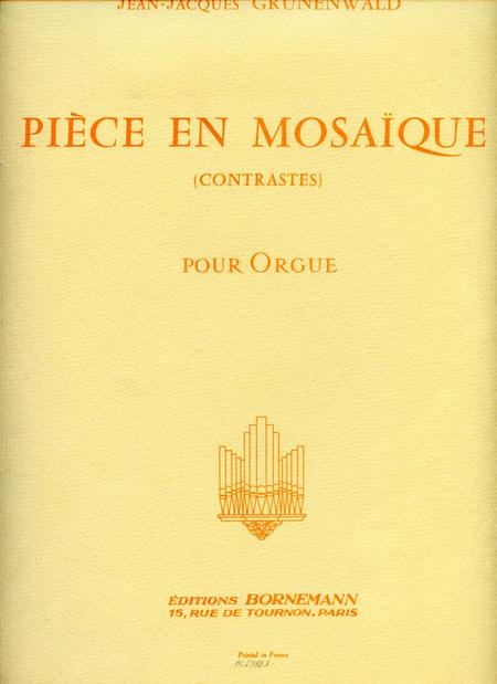Piece en Mosaique - Orgue