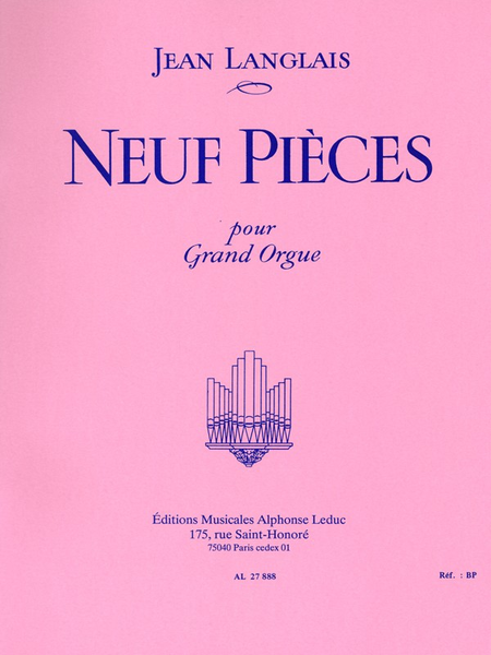 9 Pieces - Orgue