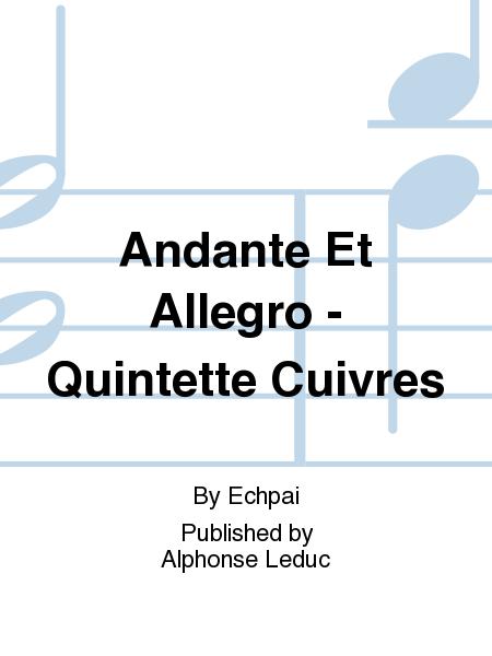 Andante Et Allegro - Quintette Cuivres