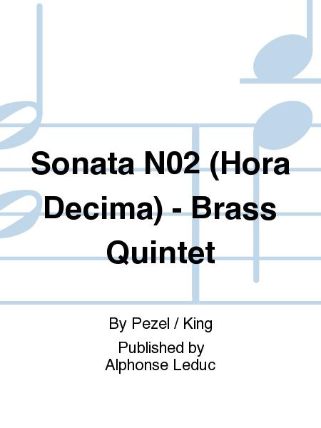 Sonata No.2 (Hora Decima) - Brass Quintet