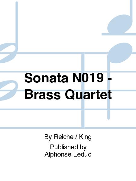 Sonata No.19 - Brass Quartet