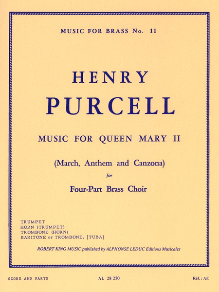 Music For Queen Mary 2 - Brass Quartet