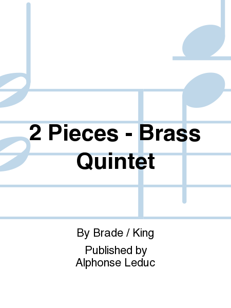 2 Pieces - Brass Quintet