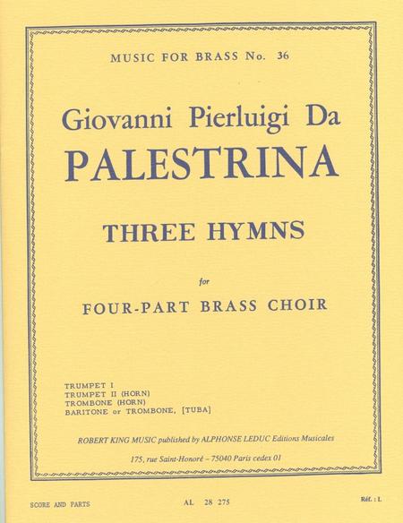 3 Hymns - Brass Quartet
