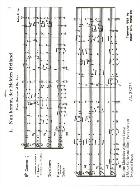 22 Chorales - Brass Quartet
