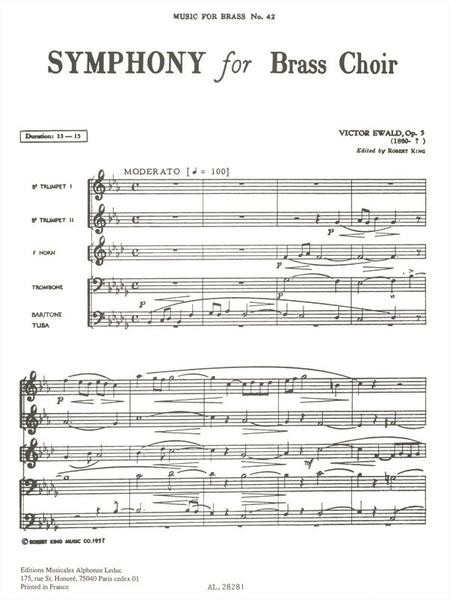 Symphony - Brass Quintet
