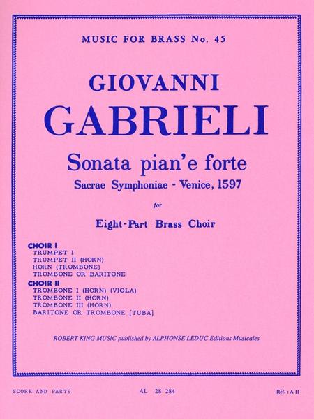 Sonata Pian'E Forte - Brass Octet