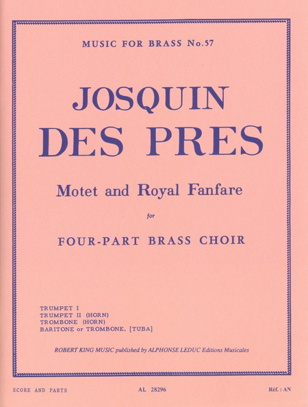 Motet And Royal Fanfare - Brass Quartet