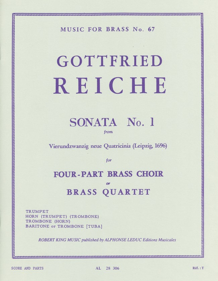 Sonata No.1 - Brass Quartet
