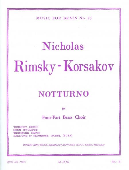 Nocturne - Brass Quartet