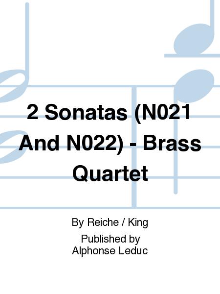 2 Sonatas (No.21 And No.22) - Brass Quartet