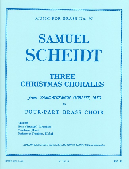 3 Christmas Chorales - Brass Quartet