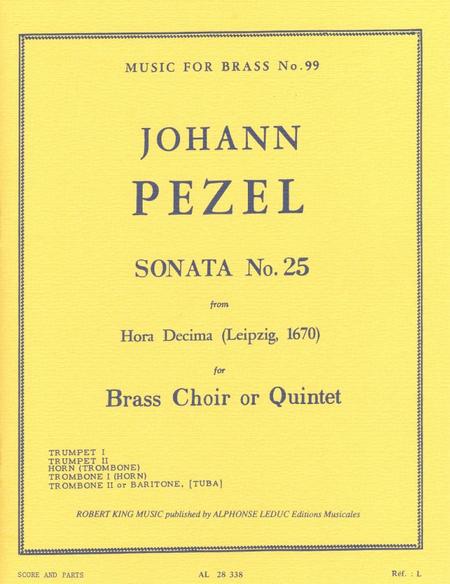 Sonata No.25 (Hora Decima) - Brass Quintet