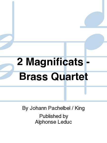 2 Magnificats - Brass Quartet