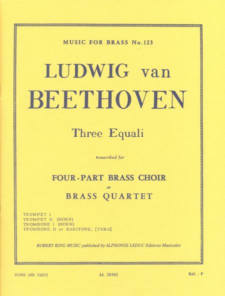 3 Equali - Brass Quartet