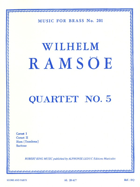 Quartet No.5 - Brass Quartet