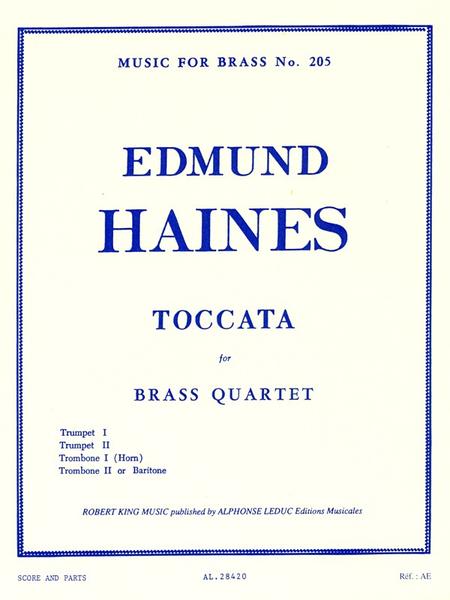 Toccata - Brass Quartet