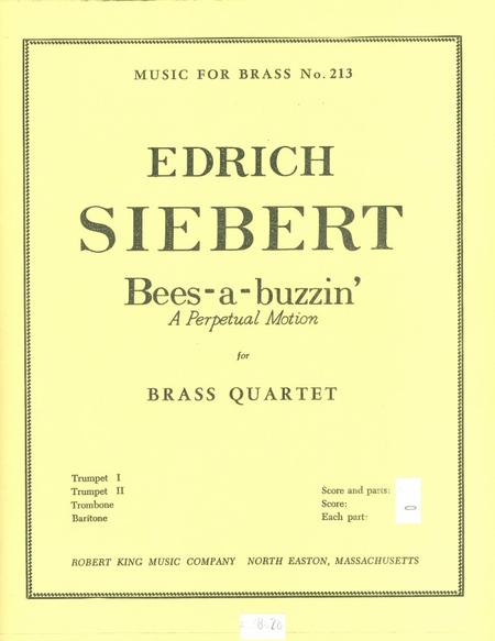 Bees-A-Buzzin - Brass Quartet