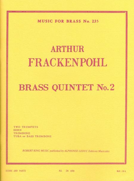 Brass Quintet, No. 2