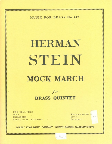 Mock March - Brass Quintet