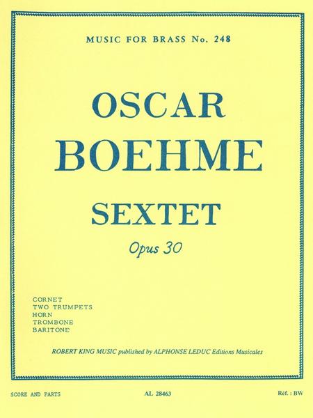Sextet Op30 - Brass Quintet