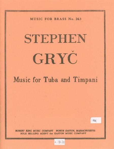 Music For Tuba and Timpani