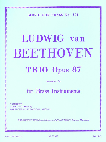 Trio Op87 - Brass Trio