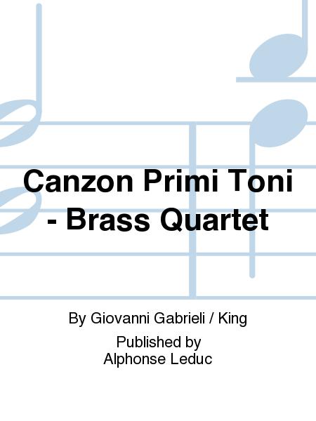 Canzon Primi Toni - Brass Quartet