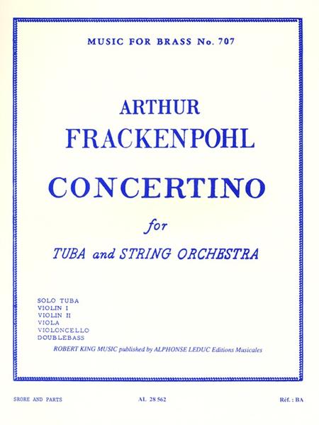 Concertino - Tuba And Strings