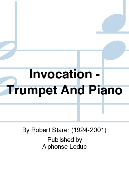 Invocation - Trumpet And Piano
