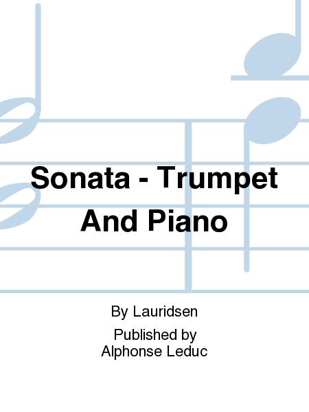 Sonata - Trumpet And Piano