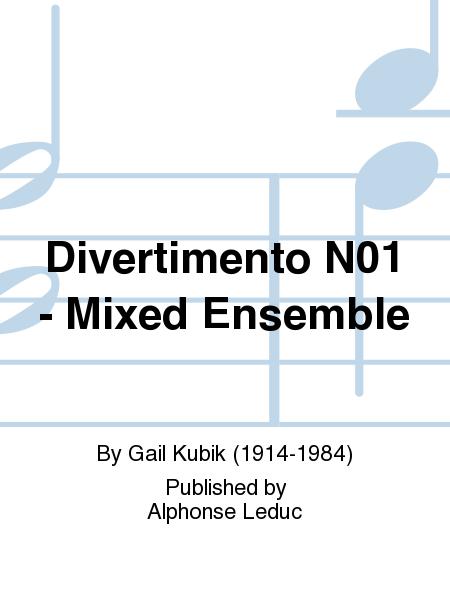 Divertimento No.1 - Mixed Ensemble