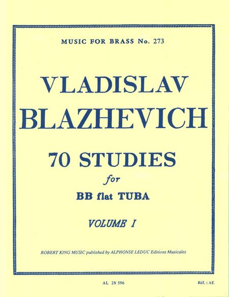 70 Studies - Volume 1/Tuba