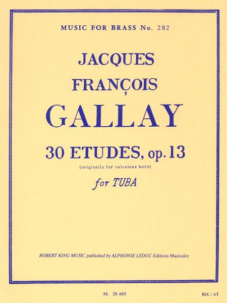 30 Studies Op13 - Tuba