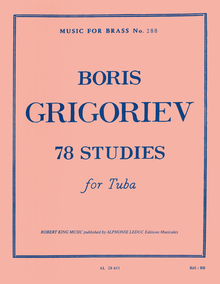 78 Studies - Tuba