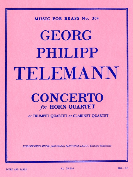 Concerto - 4 Cors (Ou 4 Tpttes ou 4 Clttes)