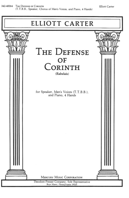 The Defense of Corinth